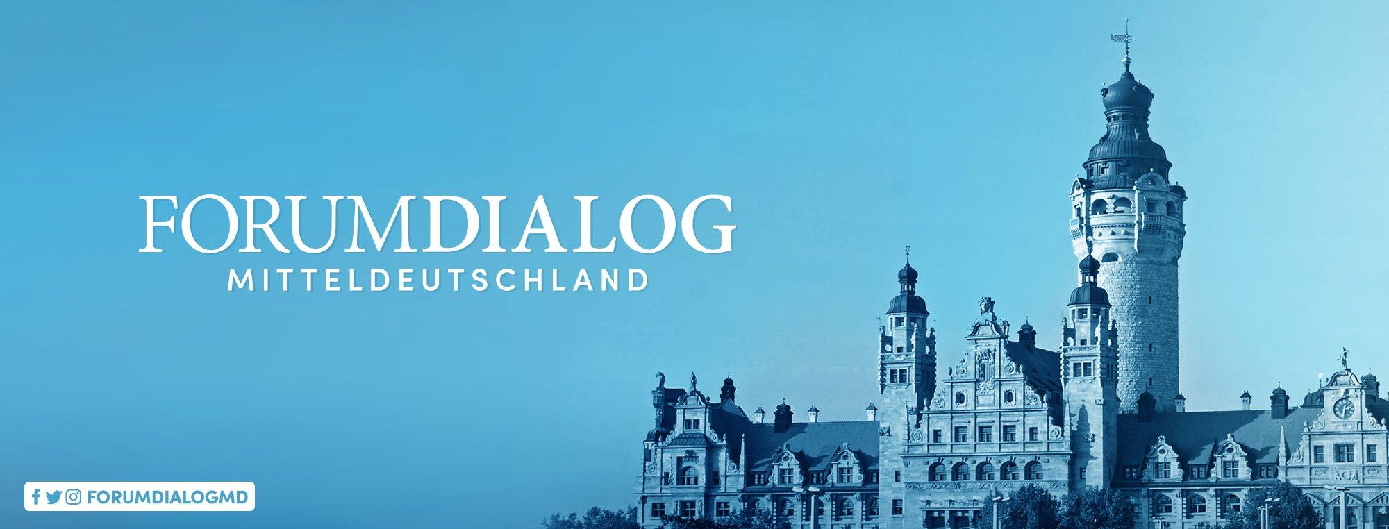 forum dialog mitteldeutschland banner