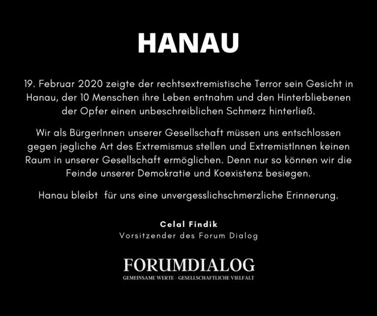 Hanau Statement 2021
