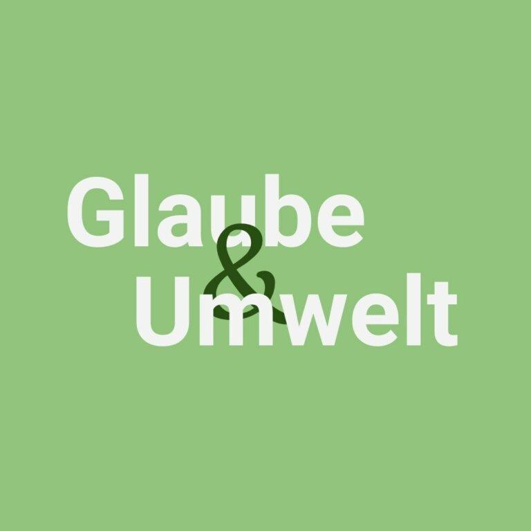 Glaube und Umwelt Logo